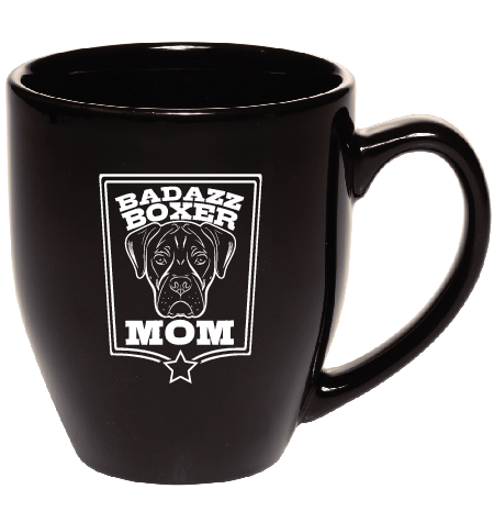 Badazz Boxer Mom Coffee Mug