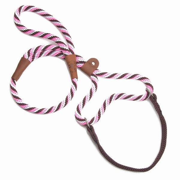 Pink Brown Walking Leash