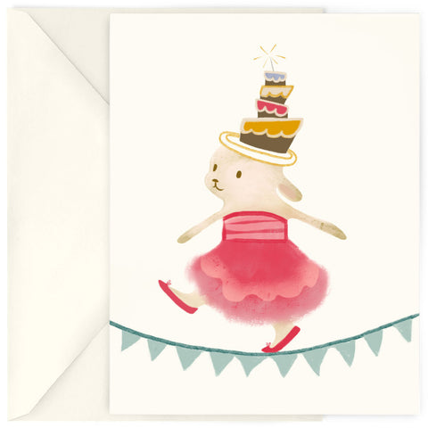 <em>Birthday bunny</em> card