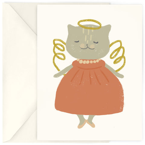 <em>Cat angel</em> card