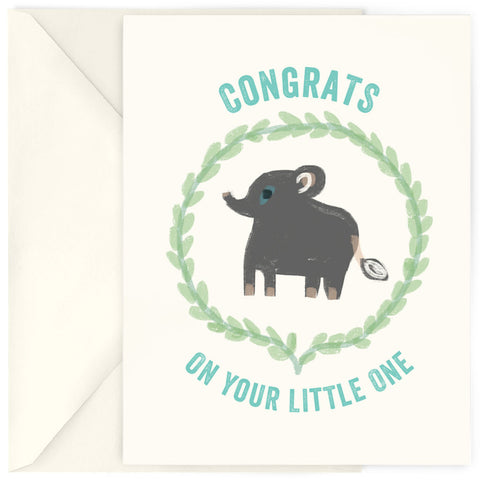 <em>Your little one</em> card