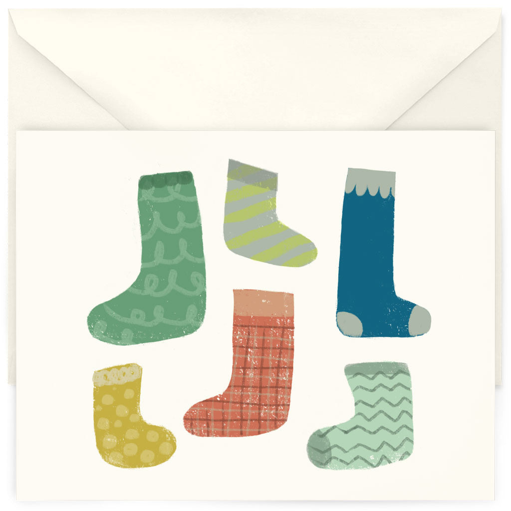 <em>Stockings</em> card