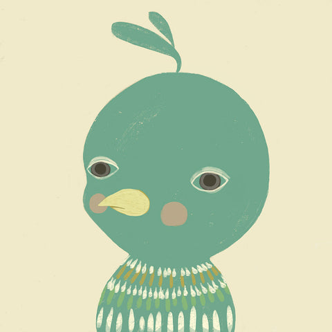<em>Unimpressed bird</em> art print