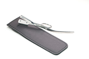 thumb swivel micro straight razor Smith+Scott MSR-1 with pouch