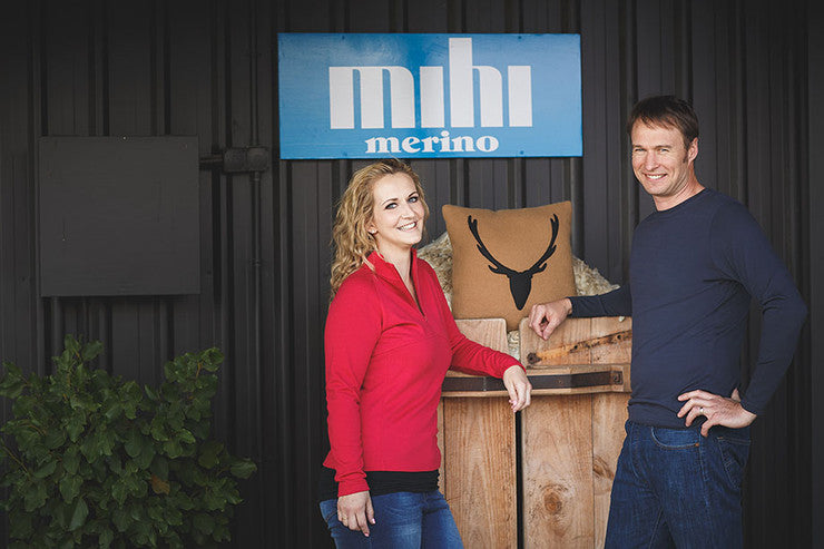 Merino sheep grown in New Zealand to make authentic merino clothing.