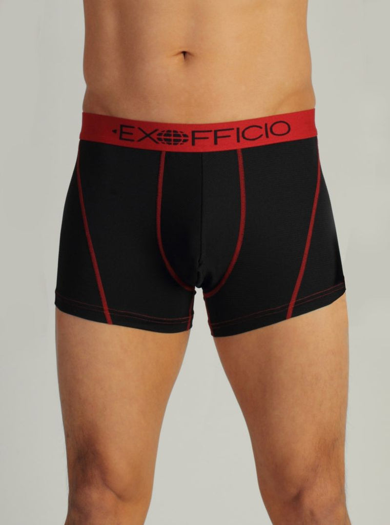 Men's Give-N-Go Sport Mesh 3'' Boxer Brief