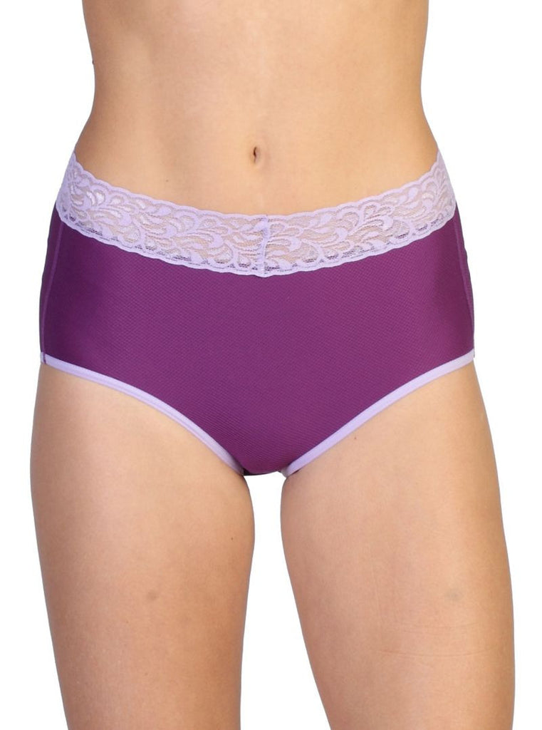 Women's Give-N-Go Lacy Full Cut Brief