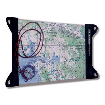 "TPU Guide Map Case - Small - 8.3"" x 12"""