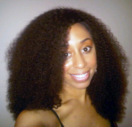 customer picture- Afro Kinky Curly