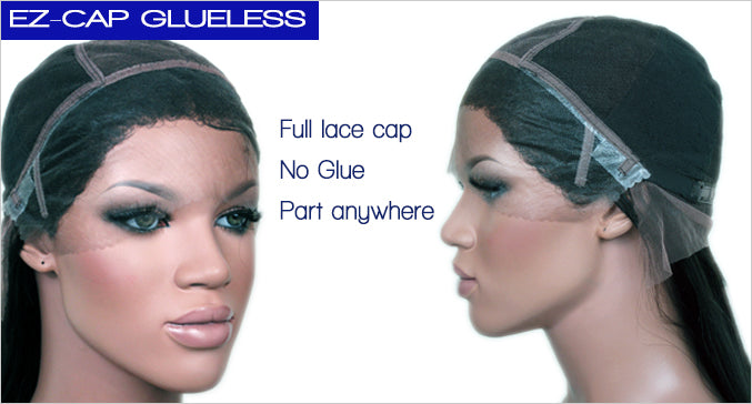 glueless cap design