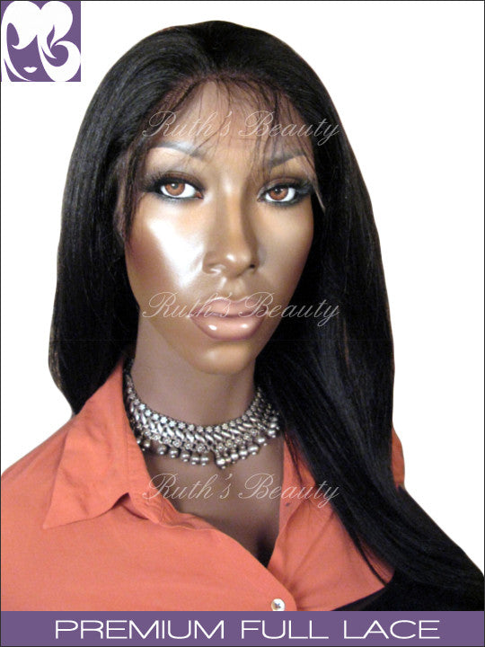 FULL LACE WIG: Manting- Chinese Light Yaki