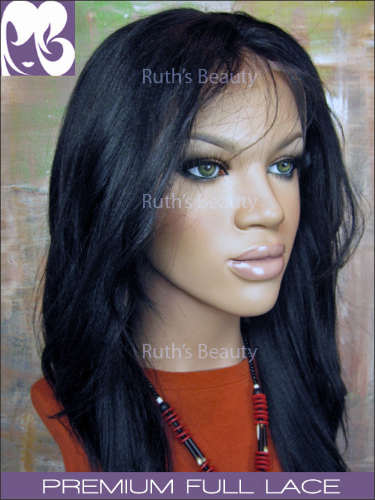 FULL LACE WIG: Pembroke- Professionally Cut Indian Remy