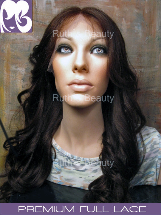 FULL LACE WIG: Kim Kardashian Professionally Cut in color 4