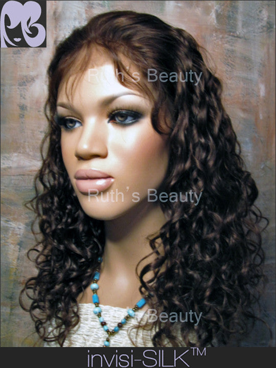 SILK TOP LACE WIG: Xantara-4 Wave
