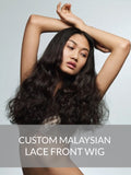 Custom Virgin Malaysian Lace Front Wig