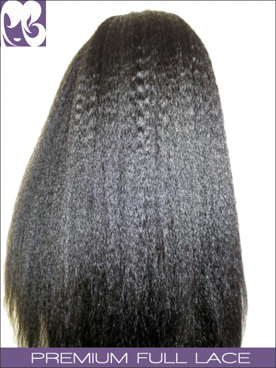 FULL LACE WIG: Ruth's Yaki Indian Remy
