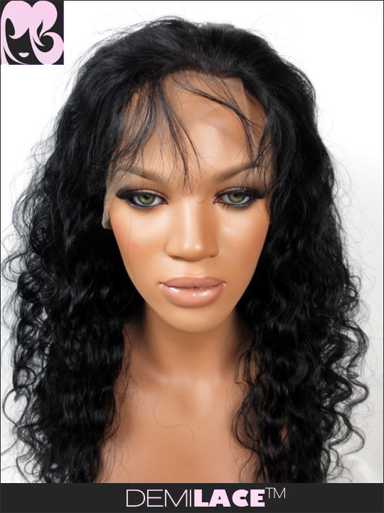 LACE FRONT WIG: Ruth's Ripple Indian Remy