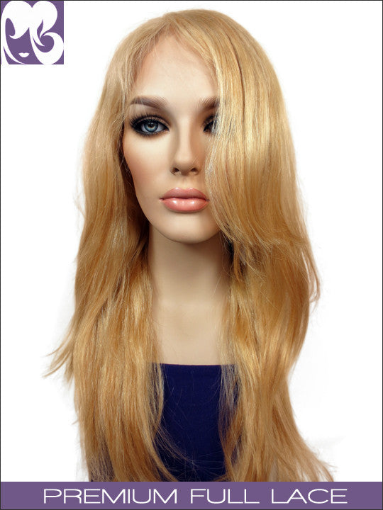 FULL LACE WIG: Belinda Blonde Professionally Cut Chinese Hair