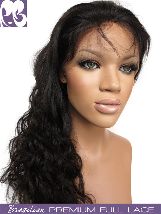 FULL LACE WIG: Xia- Virgin Brazilian