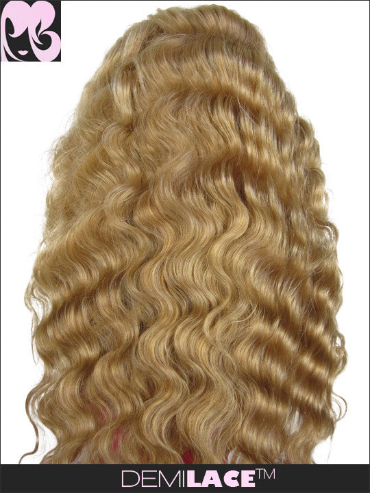 LACE FRONT WIG: Golden Ripple Indian Remy