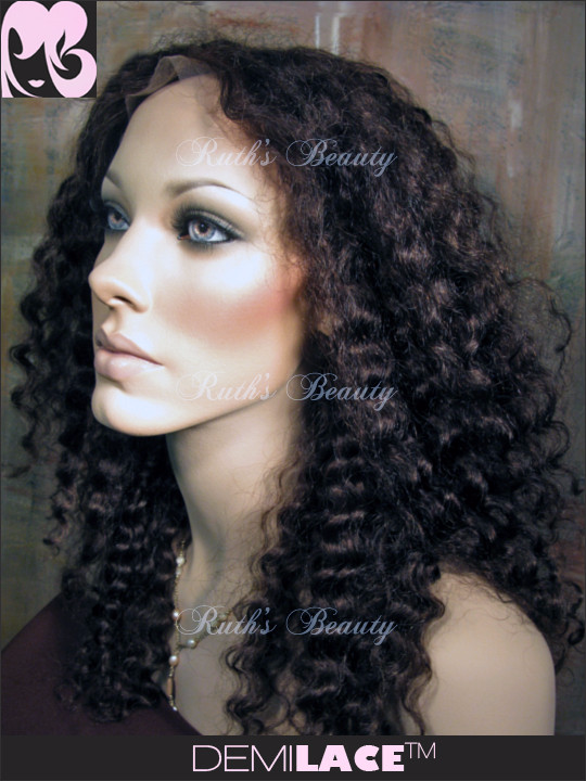 Clearance LACE FRONT WIG: Alana Spanish Wave Indian Remy
