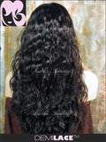 LACE FRONT WIG: Athena Natural Wave Indian Remy