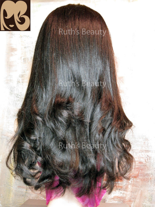 FULL LACE WIG: Catherine Cut & Styled Indian Remy