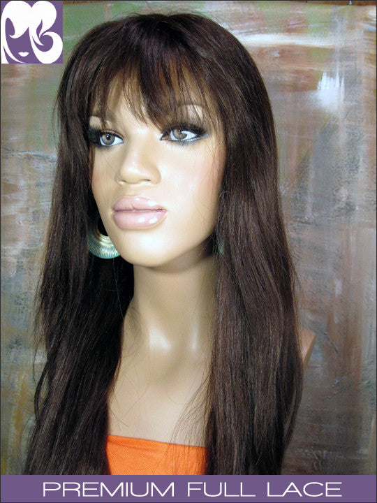 FULL LACE WIG: Karina Professionally Cut Indian Remy