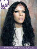 FULL LACE WIG: Elizabeth Indian Remy DUO Texture Yaki and Loose Curly)