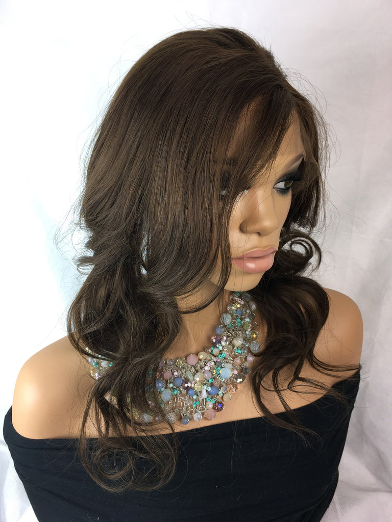 Clearance Full Lace Wig: Beyonce Virgin Chinese Medium Color 4