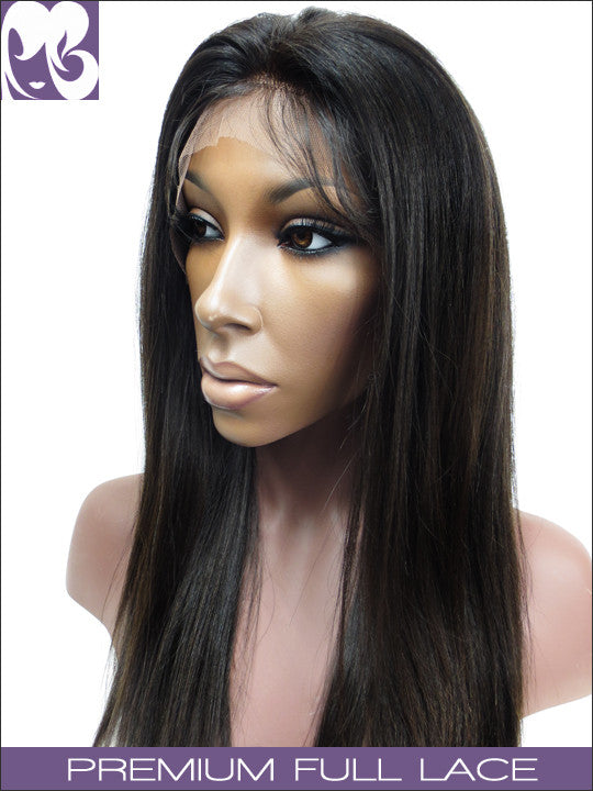 Lace wig: light yaki