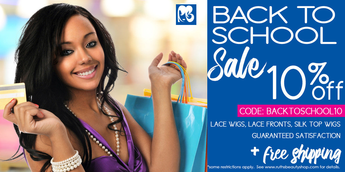 Back to School Sale Lace Wigs up to $45 off