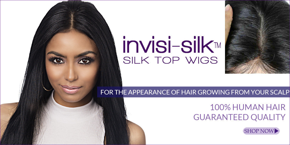 Silk top wigs with free shipping