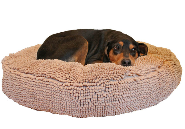 Soggy Doggy Super Snoozer Dog Bed: Beige