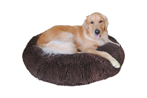 Soggy Doggy Super Snoozer Bed: Dark Chocolate