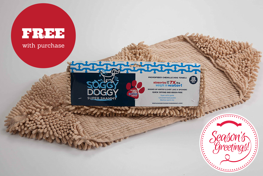 FREE Soggy Doggy Super Shammy: Beige