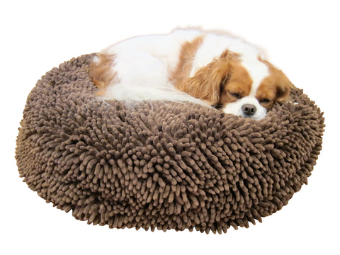 Soggy Doggy Super Snoozer Dog Bed: Dark Chocolate