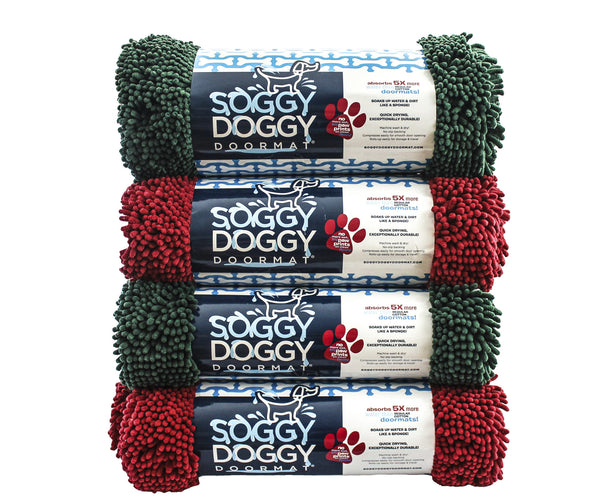Extra Large Evergreen Bone Absorbent Doormat Shop Now