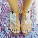 Women Casual Summer Knitwear Flip-Flops Sandals