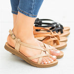 Women Criss Cross Gladiator Sandals