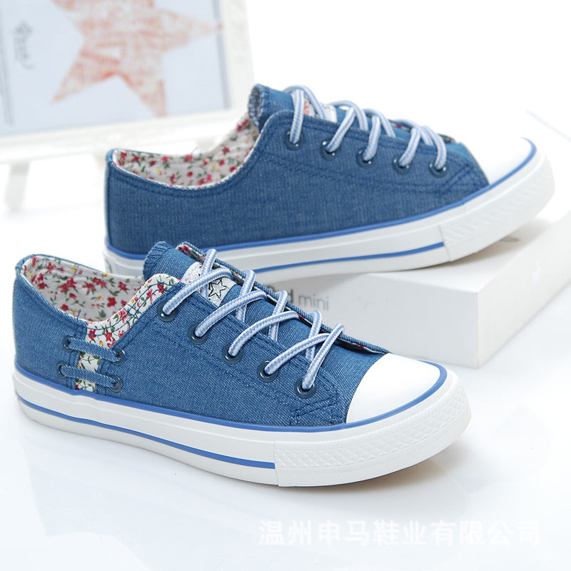 Women Slip-On Canvas Round Toe Shoes