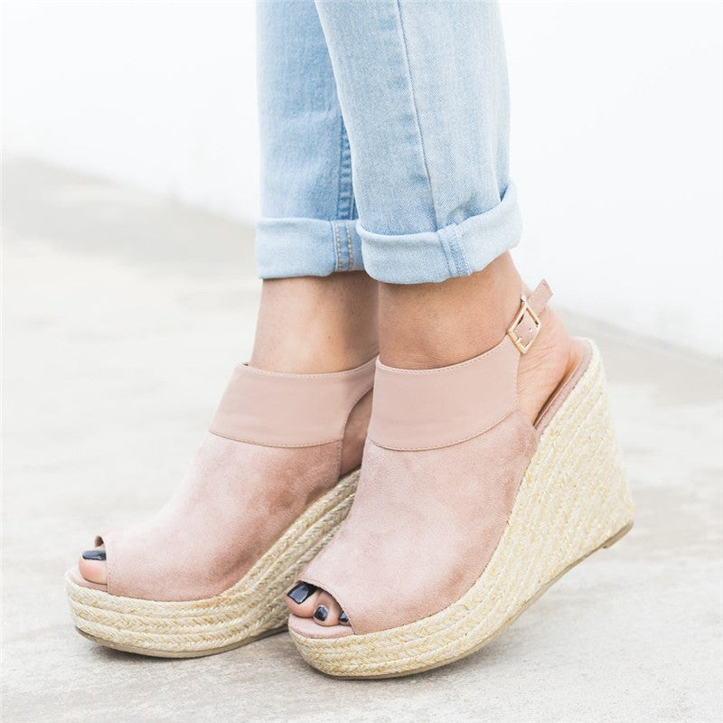 Casual Wedge Heel Sandals