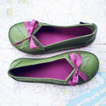 Women Soft Butterfly Flat Heel Daily Summer Flats