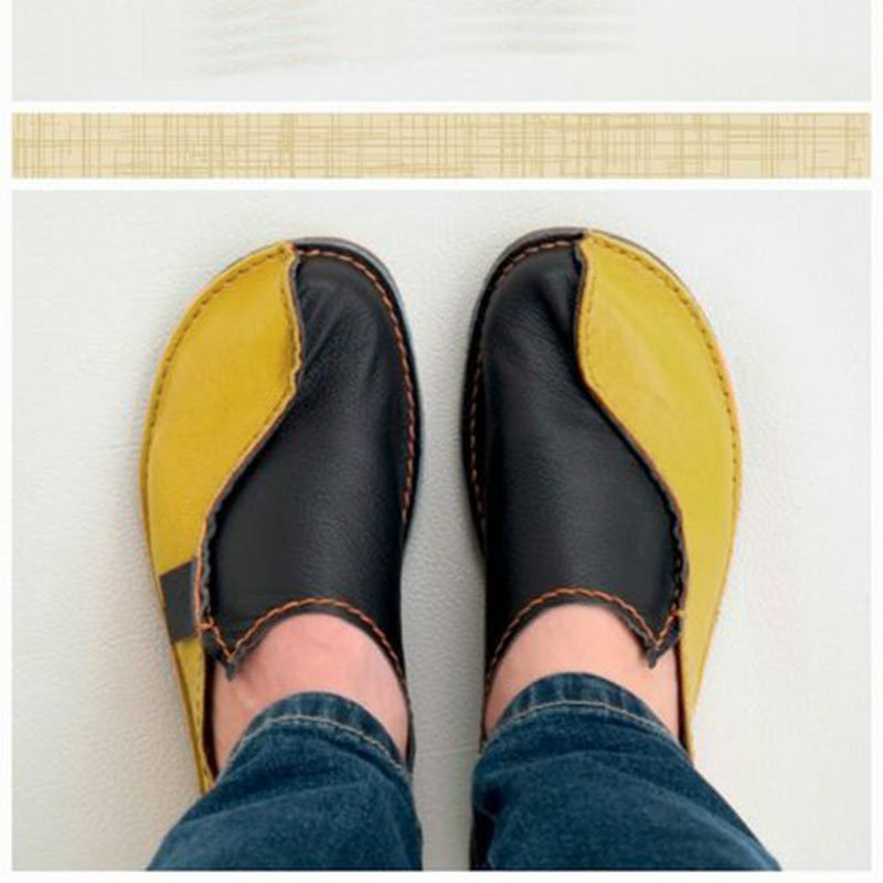 Color-block Casual Loafers