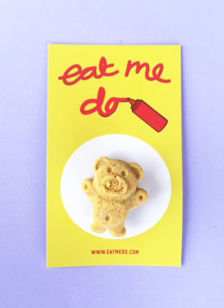 Tiny Teddy Brooch - NEW!