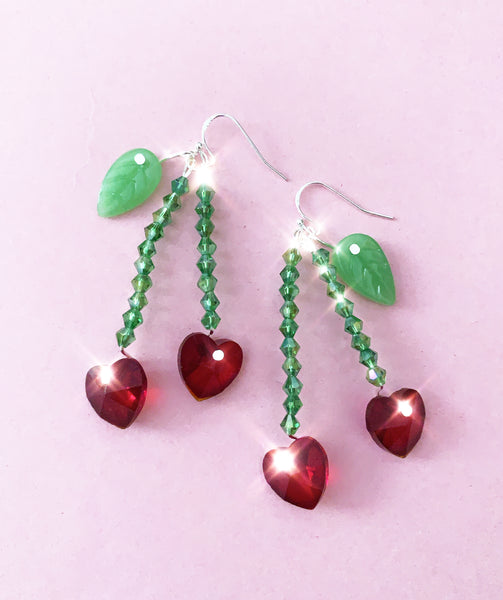 Cherry Love Earrings - NEW!