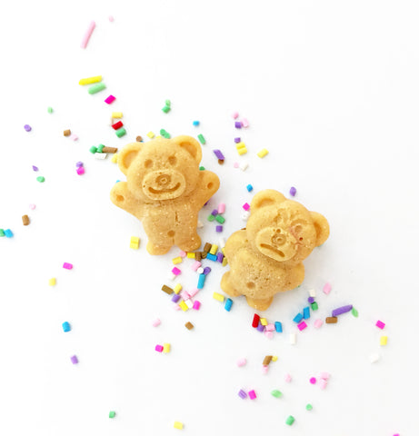 Tiny Teddy Earrings - BACK IN STOCK!