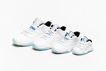 "AIR JORDAN 11 RETRO LOW ""LEGEND BLUE"""