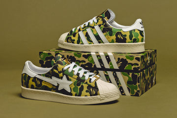 SUPERSTAR 80's X BAPE