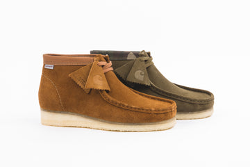 CLARKS ORIGINALS WALLABEE BOOT X CARHARTT WIP